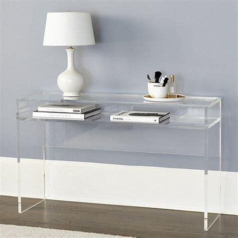 clear sofa table clear plastic sofa table okaycreations net