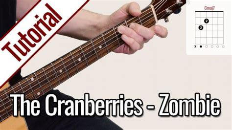 tutorial zombie the cranberries das ist gitarrentunes gitarrentunes