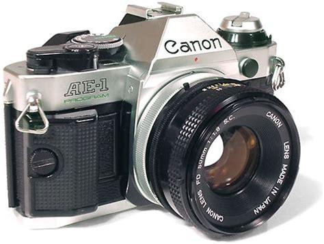 Kamera Canon Rebel T6 canon ae 1 program test d un appareil photo argentique