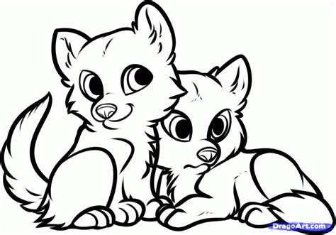 dragoart coloring pages cute animals cute baby animal coloring pages dragoart cute anime