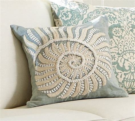Embroidered Pillow Covers by Blue Nautilus Embroidered Pillow Cover Style