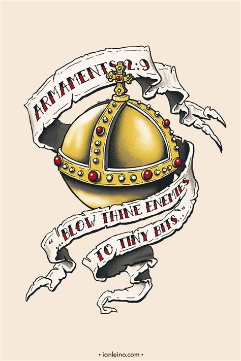the holy hand grenade tattoo