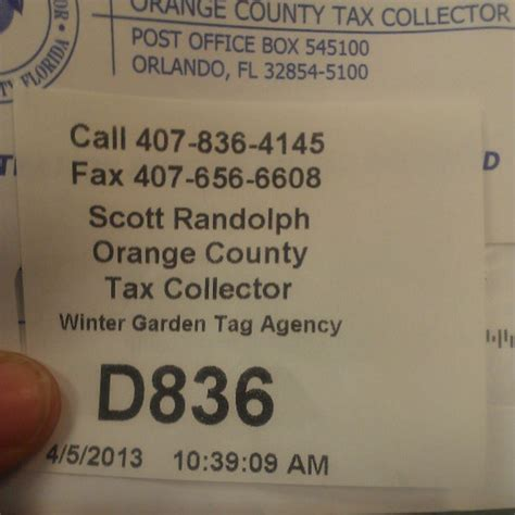County Tax Office by Orange County Tax Collector Government Building In
