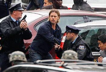 film terbaru brad pitt brad pitt marah usai syuting world war z dirazia polisi