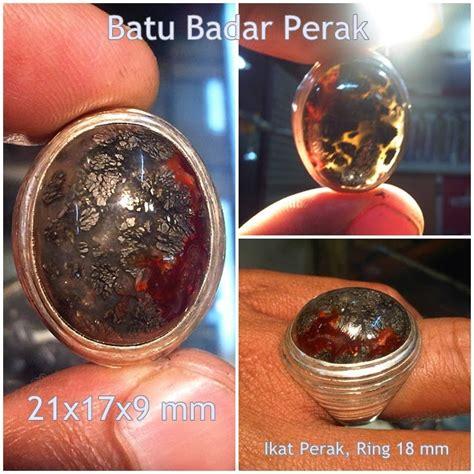 Liontin Badar Perak Klawing koleksi batu antik ak176 sold batu badar perak