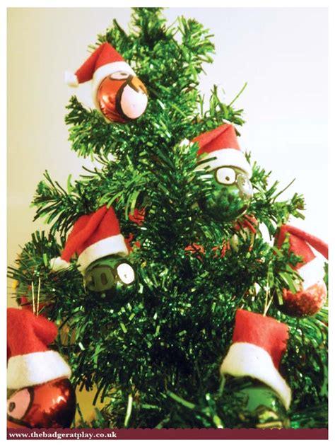 angry birds christmas tree