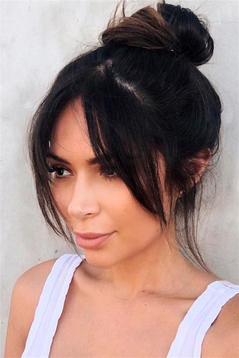 21 nice and flattering hairstyles with bangs hair type 21 nice and flattering hairstyles with bangs cabello
