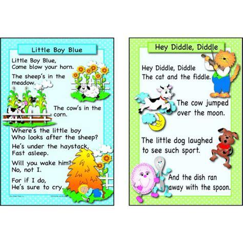 Free Printable Nursery Rhyme Posters Nursery Rhyme Poster Thenurseries