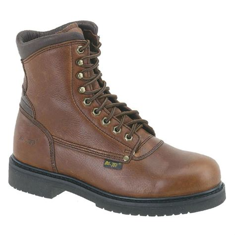 s 8 quot ad tec 174 work boots brown 303851 work boots at