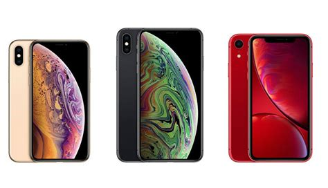 iphone xs  iphone xs max  iphone xr specs compared