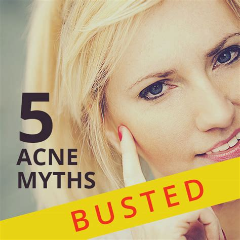 13 Surprising Myths About Acne by Five Myths About Acne Skincare Tips By Zenmed