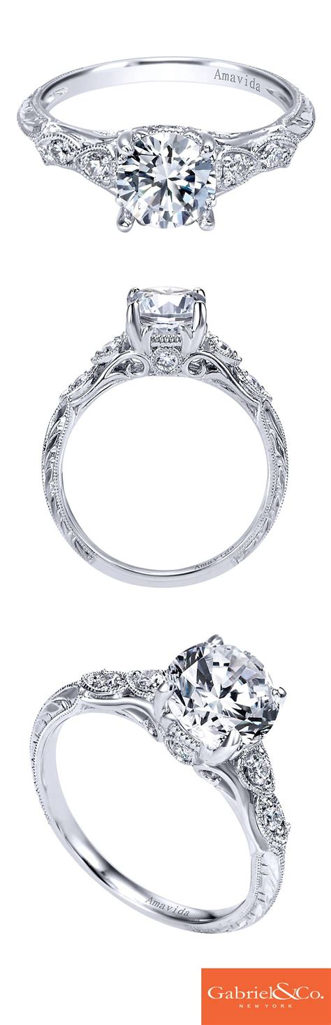 the 25 best filigree engagement ring ideas on