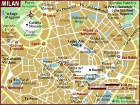 Milan Italy Map by Map Of Milan