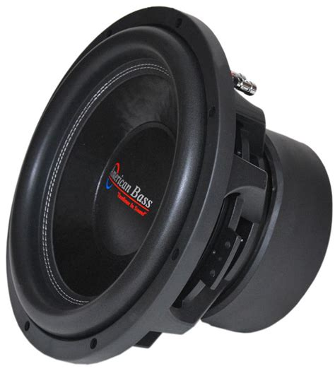 Speaker Subwoofer American 12 american bass xfl1244 12 quot subwoofer with dual 4 ohm voice