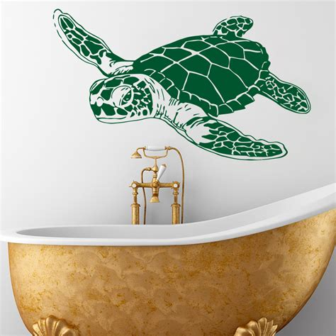 Turtle Decorations For Home Aliexpress Buy Design Home Decoration Cheap Vinyl Sea Turtle Wall Sticker Removable
