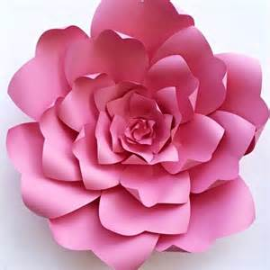 diy paper flower template how to add flair to your wedding with diy paper flower