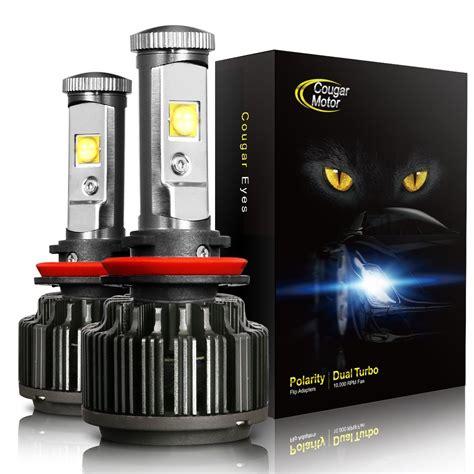 led lights headlights 6 brightest led headlight bulbs 2018 bestheadlightbulbs