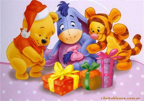 imagenes animadas de winnie pooh en navidad ba 218 l de navidad winnie the pooh y sus amigos preparan la