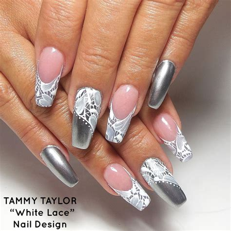 Simple Lace Wedding Nails tammy new autumn indulgence collection nail