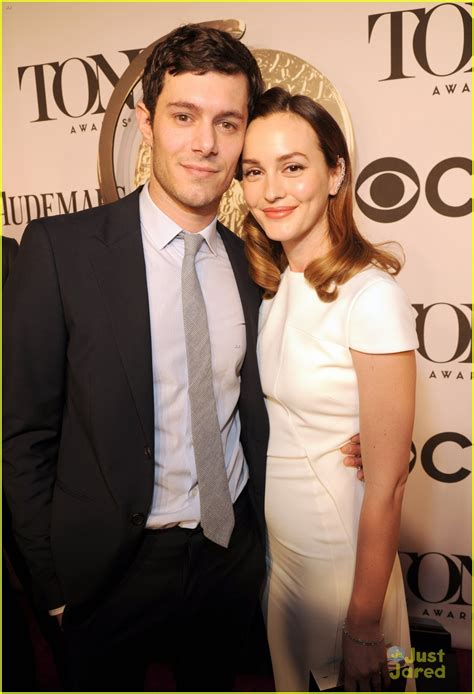 Will Tony Make A Husband by Leighton Meester Husband Adam Brody Make Carpet