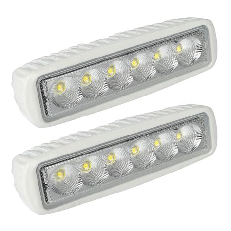 boat led lights 12v leaningtech 2 pcs spreader led marine lights boat flood