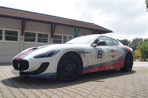 Autofolie Used Look by Used Look Martini Folierung Maserati Mc Stradale Tuning