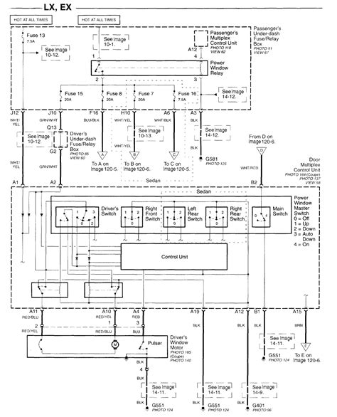 97 accord driver window wiring diagram get free image