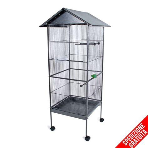 gabbie per pappagalli prezzi voliera da interno con ruote per uccelli pappagalli e