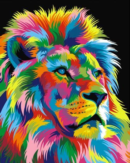 Sprei Set Tsum Rainbow royal rainbow from artventura paint by numbers