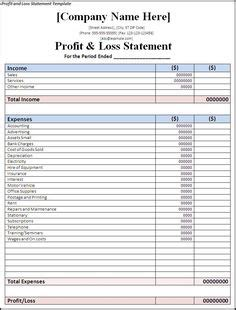 church profit and loss statement template free templates writing centre best top