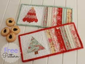 threadbare creations free pattern mug rugs