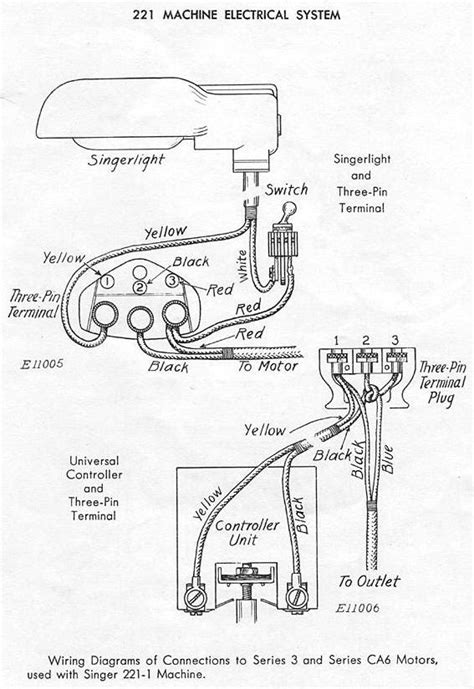 singer sewing machine parts diagram singer model 221 featherweight sewing machine