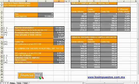 cuotas imss 2016 tablas calcular impuestos 191 c 243 mo calcular el ispt con excel youtube