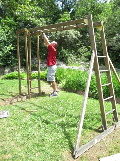 swing set ladder sew many ways tool time tuesday swing set quilt ladder