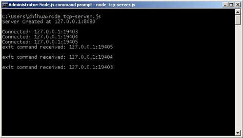 node js tcp tutorial node js tutorial 3 creating a chat server using tcp
