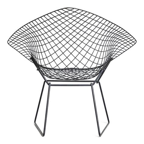 bertoia ottoman harry bertoia diamond chair and ottoman for knoll for sale