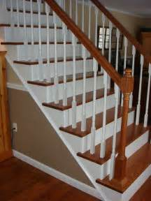 wood staircase remodelaholic top ten stair makeovers and link party