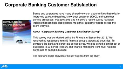 bank customer satisfaction corporate banking customer satisfaction a study by