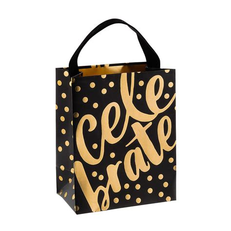 Goodie Bag Bantal Bulu Mini mini dazzling celebration gift bag the container store