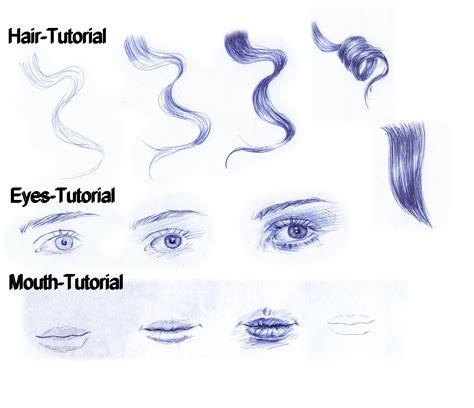 sketch pen pattern tutorial ballpoint pen eyes mouth curly hair by
