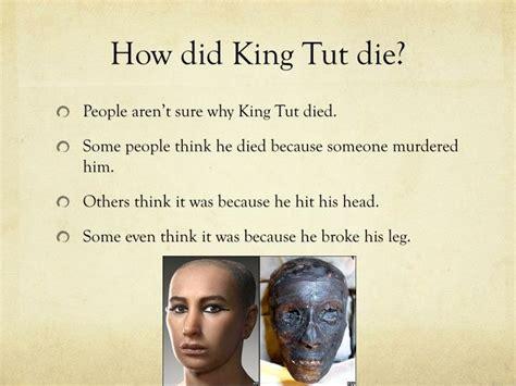 how did die ppt tutankhamun powerpoint presentation id 6444810