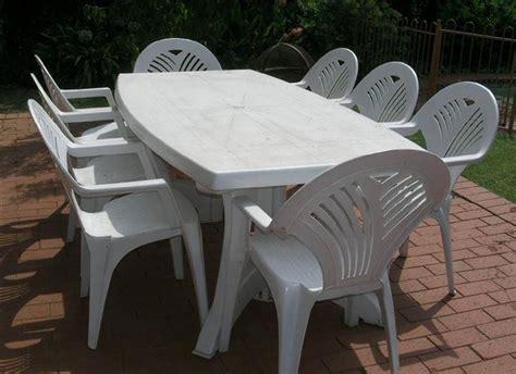 tavolo plastica giardino tavoli da giardino plastica mobili da giardino