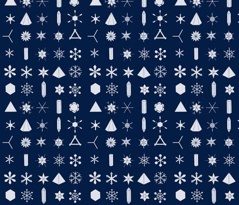snowflake geometric pattern the geometry of snowflakes large fabric pattern