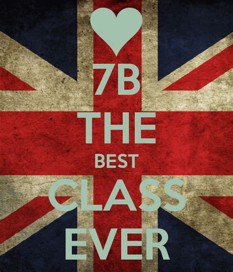 The Best by 7b The Best Class Poster Andrada Keep Calm O Matic