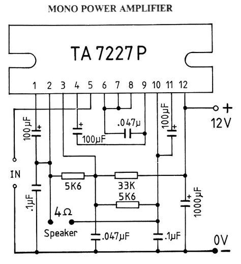 An17823a Btl 4w Mono Power Lifier index page