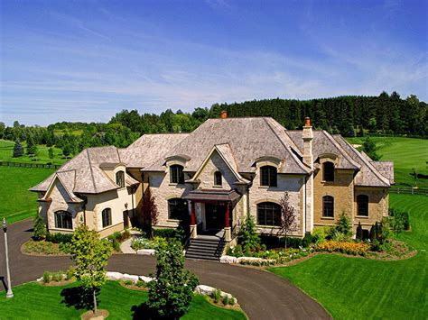 How Big Is A 2 Car Garage by Brand New Mansion In Gated Community In Ontario Canada