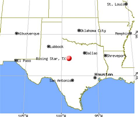 rising texas map rising texas tx 76471 profile population maps real estate averages homes