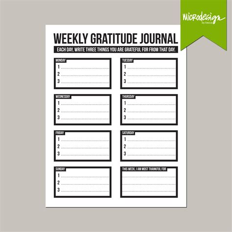printable gratitude journal printable gratitude list