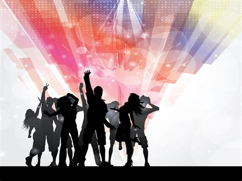 Disco Party People PPT Backgrounds   Design, Holiday