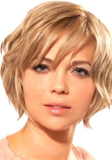 stunning short hairstyles for round faces with double chin hairstyles round face double chin